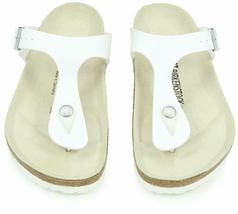 Brand New Authentic Birkenstock Gizeh BS White Women's Thong Sandals image 5