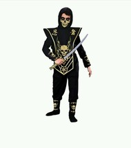 NEW Skull Ninja Costume Halloween Boys Small 4-6 - $13.95