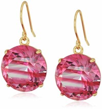 "Kate Spade New York ""Striped French Wire Drop Earrings"" Red - $22.76"