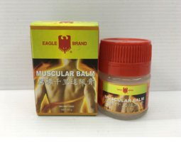 10 x 20g EAGLE BRAND Muscular Balm Pain Relief Muscle Massage EXPRESS SHIP  - $69.90