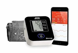 A&D Medical Upper Arm Blood Pressure Monitor with Bluetooth and Medium C... - $55.62