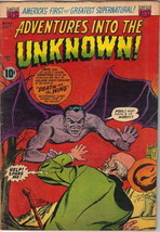 Adventures Into The Unknown Comic Book #45, ACG 1953 FINE- - $57.97