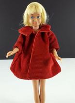 Skipper Red Corduroy Coat Clone 1960s Clothing - $19.79