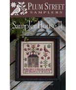 Sampler House II cross stitch chart Plum Street... - $10.80