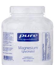 Pure Encapsulations - Magnesium (glycinate) 180 Capsules Exp. 05-2020 - $33.40