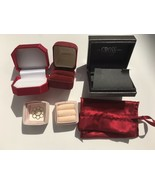 Empty Jewelry Gift Boxes Lot Of 5 - $11.91
