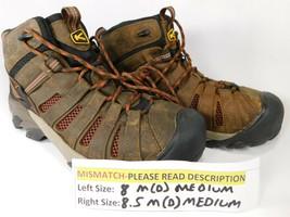 MISMATCH Keen Flint Mid Size 8 M (D) Left & 8.5 M (D) Right Men's WP Wor... - $58.55 CAD