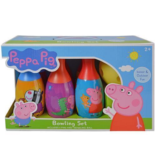 Peppa Pig Bowling Set [New] Children's Game