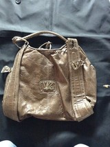 Kathy Van Zeeland Large Handbag Brown Purse Good Condition Clean        ... - $16.11