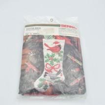 Bernat Winter Birds on quickstitch No. W08576 NEW - $41.66