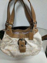 Coach  Madison Tan/Brown Hobo Bag with Matching Wallet - $69.29
