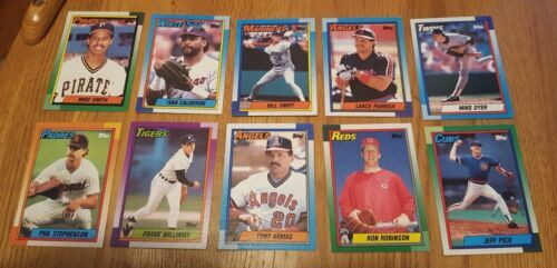 Topps 1990 Baseball Cards LotOf 54 Cards image 4
