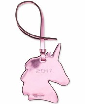 COACH NWT Unicorn Ornament Purse Charm in Metallic Pink Patent Leather MSRP - $16.82