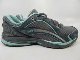 Ryka Sky Walk Size US 6.5 M (B) EU 36.5 Women's Walking Shoes Gray Teal