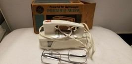 Vintage GE General Electric Portable Hand Mixer CAT No 56M17 Watts 100 w... - $23.96