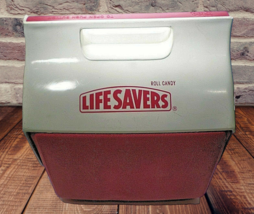 Igloo Little Playmate Life savers promo Cooler Lunch Box Ice Chest  - $44.23