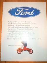 Vintage Ford Print Magazine Advertisement 1966 - $4.99