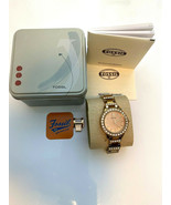 Fossil Jesse Crystal Rose Gold Dial Women's Watch - ES3020 - $69.95