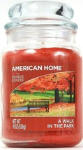 1 American Home By Yankee Candle 19 Oz A Walk In The Park Glass Jar Candle - $26.99