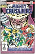 Adventures of The Mighty Crusaders Comic Book #11 Archie 1985 NEAR MINT - $5.94