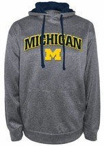 Michigan Wolverines Hoodie Men's Dominate 1 Hooded Performance Sweatshirt NEW