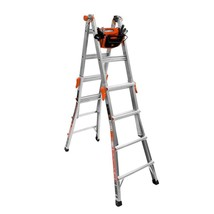 Little Giant Ladder Systems 17 Ft Aluminum Multi Position Ladder & Tool ... - $195.89