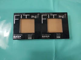 (2) Maybelline Fit Me! Set + Smooth Normal to Dry, 355 Coconut - $6.30