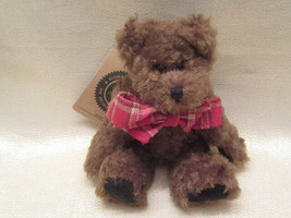 """BOYDS BEARS PLUSH BEAR POSEABLE  """"ROCKWELL""""  7"""" TALL NEW WITH TAG RETIRED - $9.99"""