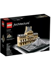 LEGO Architecture THE LOUVRE 21024 *NEW*SEALED*PRIORITY MAIL* - $74.25