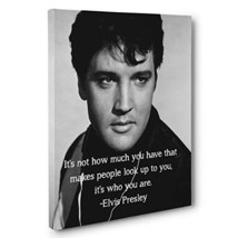 Elvis Motivational Quote Canvas Wall Art - $34.65