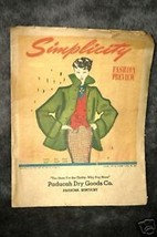 1950 Simplicity Fashion Preview - $8.42