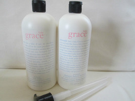 Philosophy~~BABY GRACE~~ 32 oz Body Lotion & Bath Pump (Vintage) Pink& B... - $200.00
