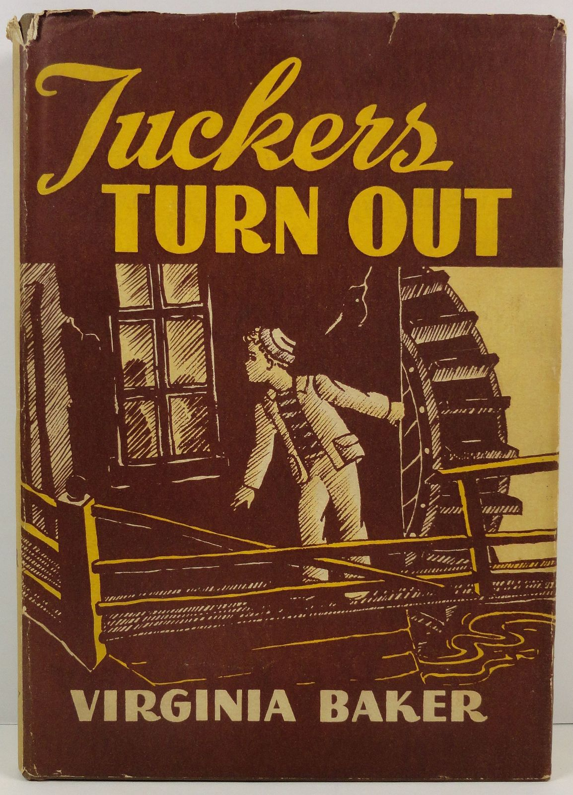 Primary image for Tuckers Turn Out by Virginia Baker 1944 HC/DJ Moody Press