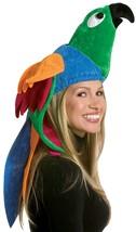 Rasta Imposta Pappagallo Tropicale Uccello Cappello Adulto Halloween - $16.78