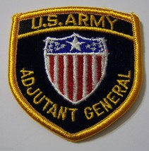 U.S. Army Adjutant General Branch Of Service Full Color Patch NEW:K5 - $3.75