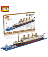 1 pc LOZ RMS Titanic Building Blocks - $60.95