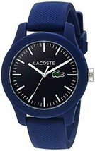 Lacoste Women's 'Ladies 12.12' Quartz Resin and Silicone Watch, Color: Blue (Mod - $116.88
