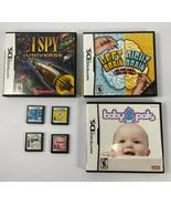 Nintendo DS Games Lot of 7 Games Hannah Montana Wappy Dog Build A Bear a... - $9.49