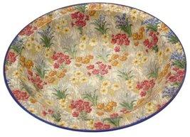 Royal Winton Grimwades Marguerite pattern blue trim soup bowl 9 inch - $57.33