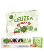 Protein Bar Peanut Magnesium Muscle Recovery + Leuzea 60 Tablets Maral Root - $36.62