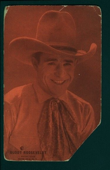 Primary image for BUDDY ROOSEVELDT-ARCADE CARD-1920-WESTERN FR/G