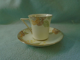 Ref 002 Vintage Royal Doulton Cup and Saucer Nerissa Pattern Circa 1928 – 1973 - $13.79