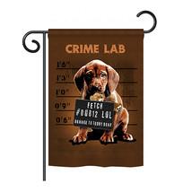 "Crime Lab - 13"" x 18.5"" Impressions Garden Flag - G160002 - $19.97"