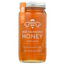Bee Harmony - Honey - American Raw Orange Blossom - Case of 6-12 oz. - $74.94