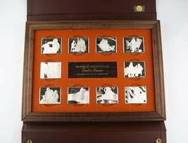 1973 Norman Rockwell Fondest Memories 10x Argento .925 Barrette Prima Ed... - $1,683.01