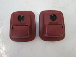 Mercedes R230 SL500 SL55 luggage seat belt clips buckles, rear 230860009... - $93.49