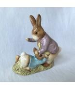 Beatrix Potter's MR. BENJAMIN BUNNY & PETER RABBIT 1975 BESWICK ENGLAND ... - $34.29