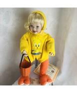 Ashton Drake Porcelain Doll Looney Tunes Twick or Tweet Halloween Costum... - $34.16