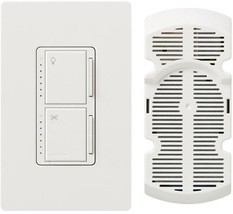 Indoor Fan Light Dimmer Control Single-Pole Indicator Light Wall-Mounted... - $60.95