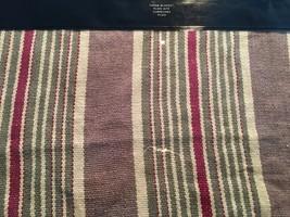Ralph Lauren Plage D'or / Port Palace Black / Cream Throw Blanket Nip - $188.09